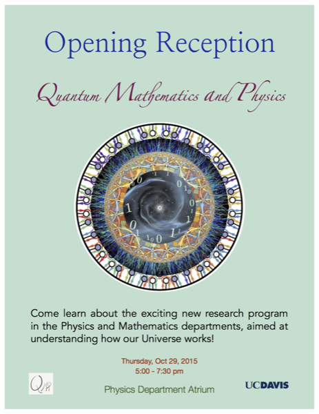 QMAP Opening Reception Poster