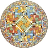 Escher AdS